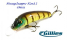 Воблеры GILLIES StumpJumper Size 3 45mm