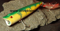 Попперы Mann`s - Loundmouth Chug-N-Spit series Yellow Perch