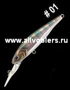 Воблеры MAJOR CRAFT ZONER JERKBAIT 50 SP (50 мм 2.5 гр) ZJ50-1
