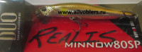 DUO-RMW-80SP-A510  Воблер DUO Realis Minnow 80SP, 80 мм., 4.7 гр., суспенд., #A510