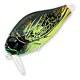 Воблеры ZIPBAITS B-Switcher SSR Craze rattler, 42мм, 6.5гр, 0-0.2м, плав.