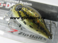 Воблер ZIPBAITS B-Switcher 1.0 Rattler 45мм.  цвет № 521