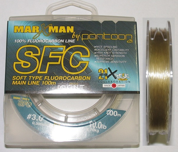 Флюорокарбон Pontoon21 Marxman HFC clear 50m/0285mm/58kg/125lb