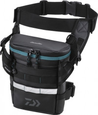 Сумка поясная Daiwa Emeraldas Tactical Thigh Bag (A)-BK 7×22×28см