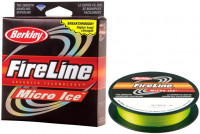 Плетенка зимняя Berkley Fireline Micro Ice Green 45 м 0.12 мм 6.8 кг 1085680