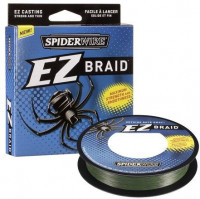 Плетеная леска Spiderwire EZ Braid Lo vis Green 270 м 0.12 мм 5.1 кг зеленая 1201509